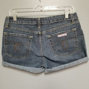 Hudson vintage denim jean cuttoff shorts